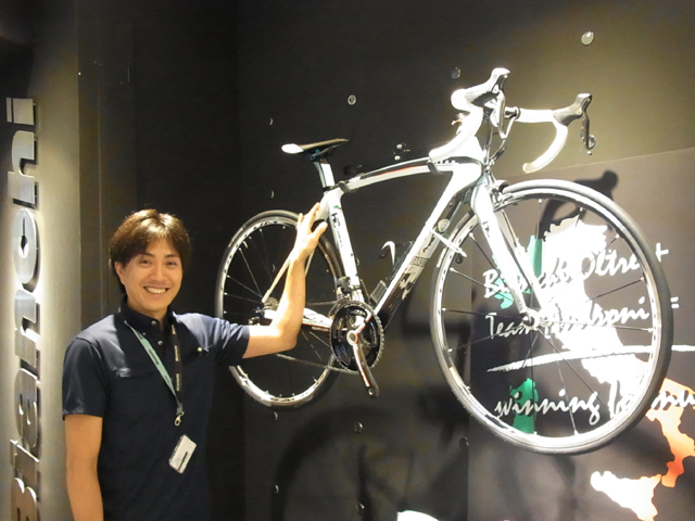 Bianchi Bicycles And Accessories At Omotesando Hills