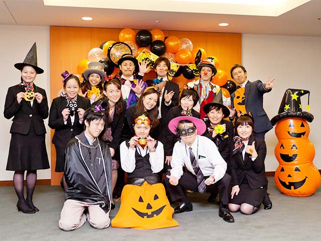 at motoazabu hills a private halloween party was held for residents and guests the staff dressed up in costumes with the residents added enthusiasm to the - What Is Halloween A Celebration Of