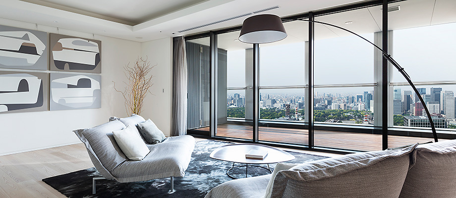 japanese apartment design luxury modern japanese living room ideas Luxury Apartments in Tokyo | MORI LIVING | Mori Building Co., Ltd.